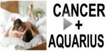 Cancer + Aquarius