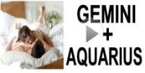 Gemini + Aquarius